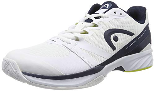 Head Sprint PRO 2.5 Men, Scarpe da Tennis Uomo, Bianco (White/Dark Blue Whdb), 41 EU