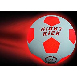 Pelota de futbol con luz NIGHT KICK JUNIOR - el fútbol infantil especial