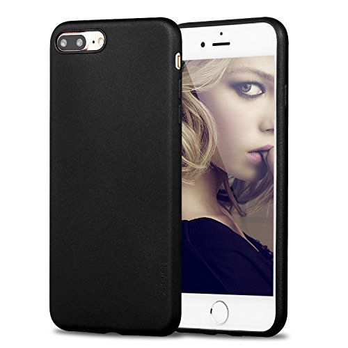 custodia iphone 7 in silicone nera