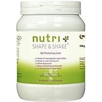 Nutri-Gloss Plus Shape & Shake 500g–Poudre de protéines sans aspartame–avec Whey Protein + caséine–Boîte...