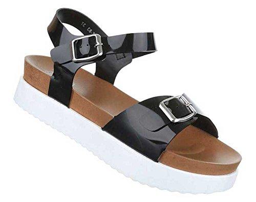 Senhoras Sandálias Sapatos Sandálias Pretas