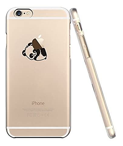 iPhone 6 6s Coque, UCMDA Silicone transparente Crystal Clear Housse Etui, Anti chocs Anti-rayures souple TPU Gel Bumper cas pour Apple iPhone 6/6s - White Flower