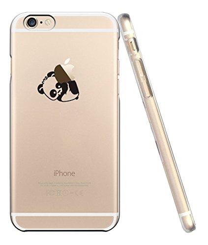 moda firmata ab5ac bd2ea Cover iPhone 6, Custodia iPhone 6S, UCMDA Silicone Trasparente Morbida  Clear Gel Caso, Ultra Slim Antiurto Anti-Graffio Bumper Case con Disegni -  ...