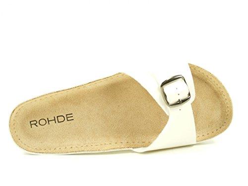 Rohde Riesa, Mules Femme Weiß