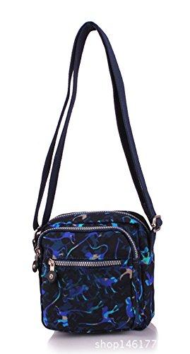 Keshi Nylon neuer Stil Damen Handtaschen, Hobo-Bags, Schultertaschen, Beutel, Beuteltaschen, Trend-Bags, Velours, Veloursleder, Wildleder, Tasche Mehrfarbig 1
