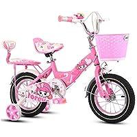LETFF Bicicleta Infantil 18 Pulgadas Bebé Estudiante Bicicleta Antideslizante, ...