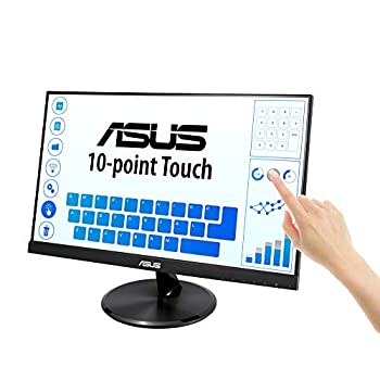 """ASUS VT229H 21.5"""" Monitor, FHD, 1920 x 1080, IPS, 10-point Touch Monitor, HDMI, Flicker Free, Filtro Luce Blu, Certificazione TUV"""