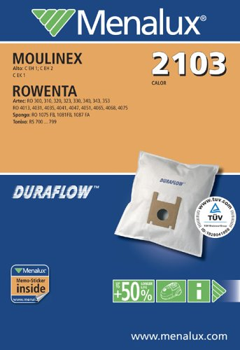Menalux 2103, Duraflow, 5 Staubbeutel