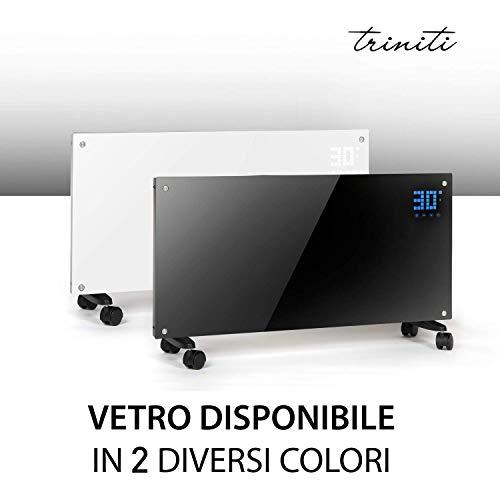 Triniti Panel termoconvector, calefacción eléctrica, radiador de cristal de convección 1000-2000...