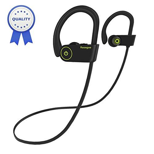 Auricolare Bluetooth HolyHigh Yuanguo2 Best cuffie sportive resistenti all'acqua Waterproof standard senza fili con Microfono a durata batterie cuffie anti-rumore con cancellazione del rumore esterno