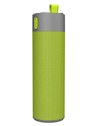 LRWEY Mini Tragbarer Bluetooth-Lautsprecher, Multifunktions-Selfie-Stick-Taschenlampe Freisprecheinrichtung Outdoor-Sport-Powerbank-Lautsprecher für iPhone, iPad, Laptops