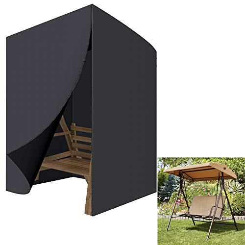GreenEur - Juego de fundas para muebles de patio, impermeables, fundas para muebles de jardín al aire...
