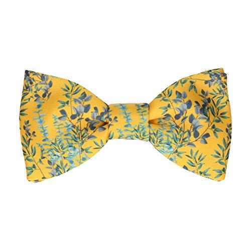 Mrs Bow Tie Eucalyptus Fliege, Fertig gebundene - Gelb