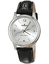 Dugena Damen-Armbanduhr Momentum XS - Funkuhren Analog Quarz Leder 4460642