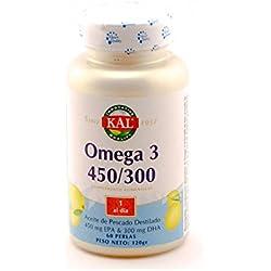 OMEGA 3 PERLAS 450/300 60 PERLAS