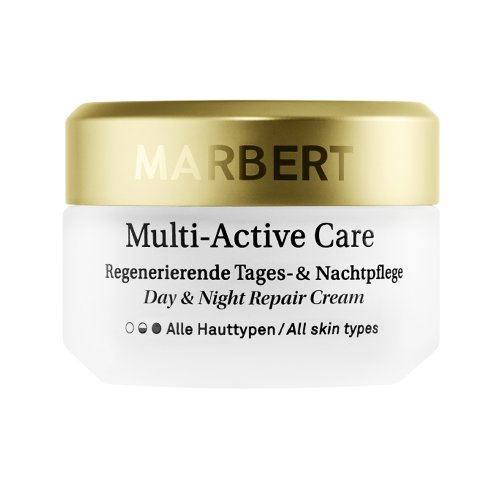 Marbert Multi-Active Care femme/woman, Day & Night Repair Cream All Skin Types, 1er Pack (1 x 50 ml) -