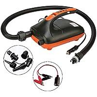 HEREB 20PSI SUP Pumpe 12V elektrische Luft-Schnellfüllpumpe für aufblasbare Zeltkajaks