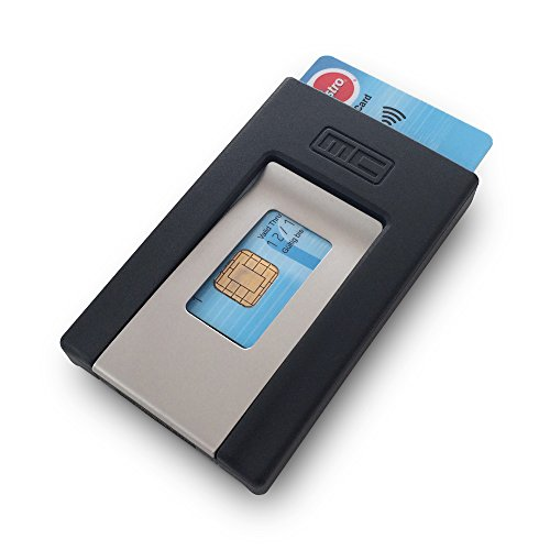 MCPOCKET das Original. - Kartenetui und Geldklammer in einem. Die kompakte Geldbörse/Smart/Minimal Wallet.