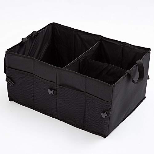 DBD Kofferraum Organizer Trunk Auto Storage Organizer LKW Tasche Faltbar Oxford Stoffbox Travel, Black -