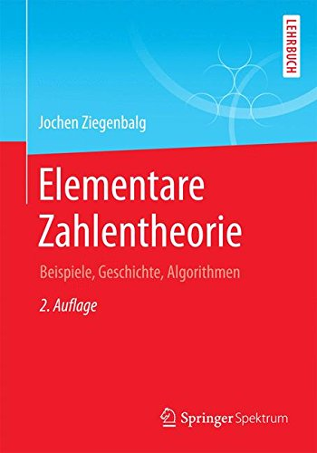Elementare Zahlentheorie