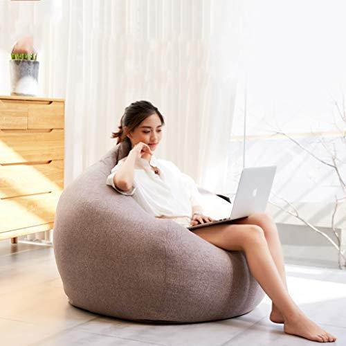 Jinxin-Moon Chair Sitzsack Faule Couch Schlafzimmer Balkon Schaumstoff Einzelne (Farbe : B, größe...