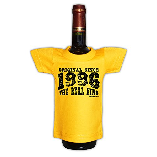 (Mini T-Shirt - Original since 1996 The real king - Originelle Verpackung - Geschenkidee - Geburtstag - Party Gag)