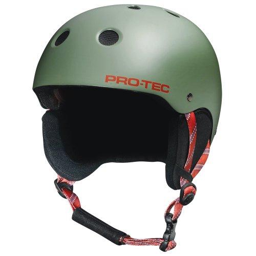 pro-tec-classic-snow-casco-de-esqui-snowboard-para-hombre-verde-sage-hiker-mat-tallasmall