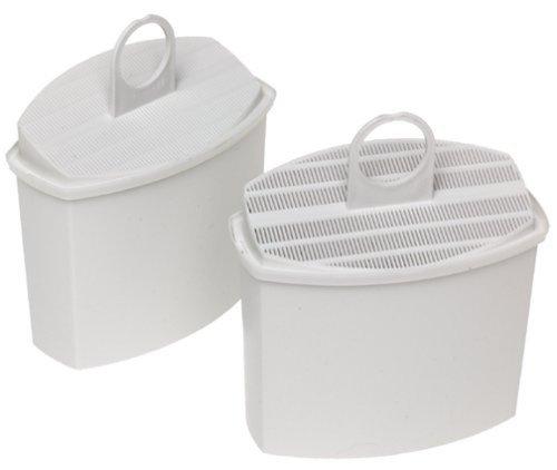 Braun AromaSelect pureaqua KWF 2 Wasserfilter | Verbessert den Kaffeegeschmack | Wasserfilter für alle Braun AromaSelect und AromaPassion Kaffeemaschinen | 2 Stück | weiß - Kaffee-filter Braun Für