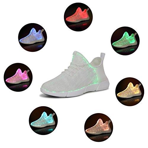HUSK'SWARE Kinder LED Schuhe Nacht Laufschuhe Leuchtende Schuhe Damen Schuhe mit Licht