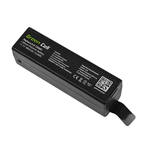 Green Cell® Akku Batterie für DJI Osmo (Li-Polymer High Performance 950mAh 10Wh 11.1V Schwarz) Serie Ultrabook-pcs