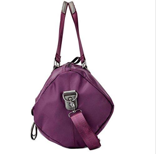 Borse A Tracolla Messenger Borse Multitasche Crossbody Impermeabile Borse Purple