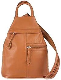 Bottega Carele - Bolso mochila de Cuero para mujer