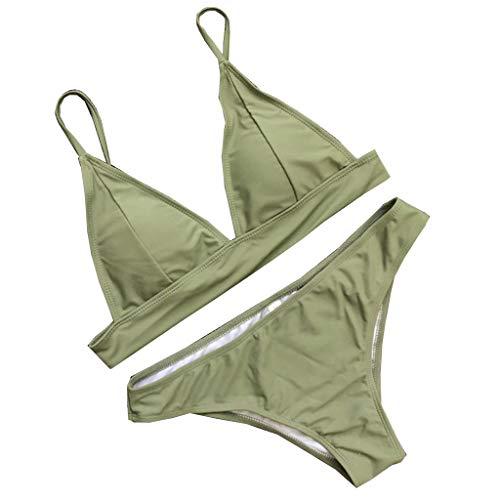 JiaMeng - Conjunto de Bikini - Playa - Pare Mujer - JMYZ133