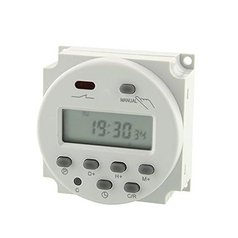 Kicode Smart LCD électronique écran numérique programmable Compte à rebours jusqu