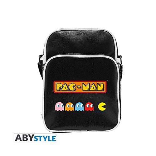 Retro Pac-Man 80s Arcade Logo Messenger Bag