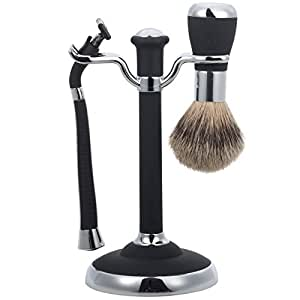 John Lewis Men's Shaving Set Black - Pack of 6