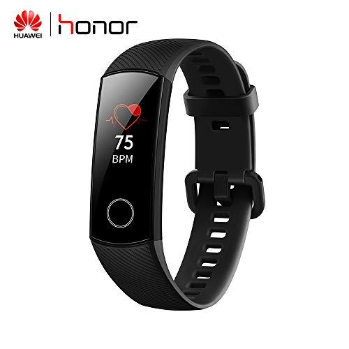 Huawei Honor Band 4 Fitness-Tracker Armbanduhr Hongtianyuan mit Pulsmesser IP67 Wasserdicht Tracker Aktivitätstracker Bluetooth Smart Handgelenk 34.6 * 14.5 * 0.8 mm Schwarz