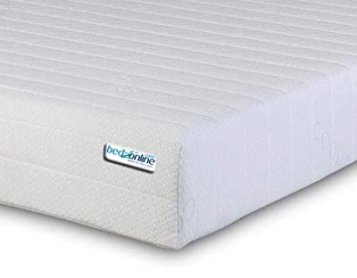 Bedzonline Memory Foam Mattress, Double