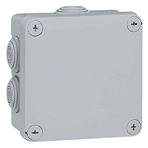 Legrand LEG94519 Boîte de dérivation carrée fermeture par 1/4 de tour Gris