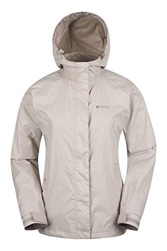 Mountain Warehouse Womens Waterproof Jacket Taped Seams Coat Cagoule Ladies