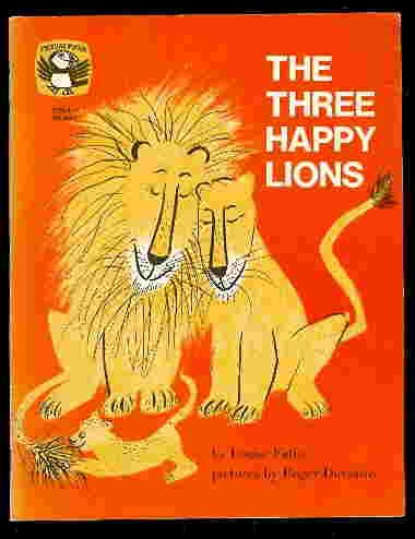 The three happy lions