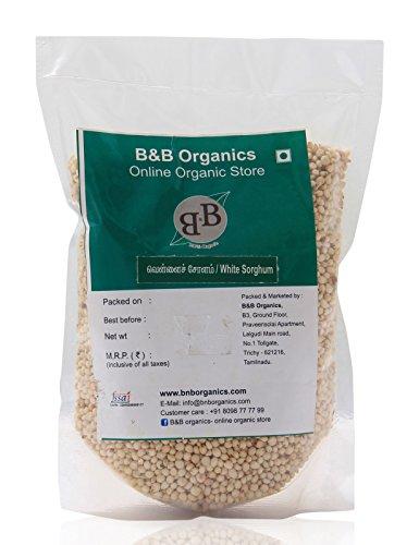 B&B Organics White Sorghum, 2 kg