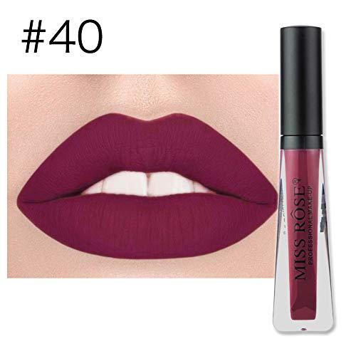 Jaminy Make-Up Lippenstift Liquid Lipstick Matte Lipstick Lippenstift,Lippenstift Set Liquid Matt...