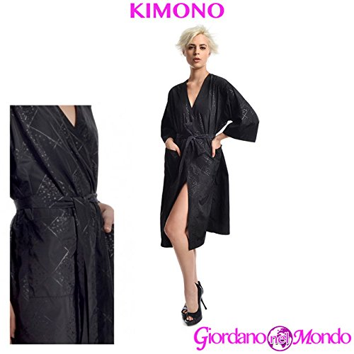 Kimono mujer largo profesional cliente salón peluquería