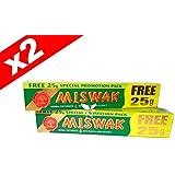 DENTIFRICE MESWAK (MISWAK - SIWAK) *ORIGINAL DABUR* (LOT DE 2X75g)