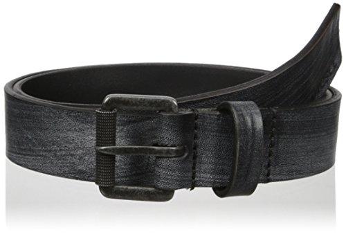 Cintura in pelle Diesel B-blurr nero 100cm