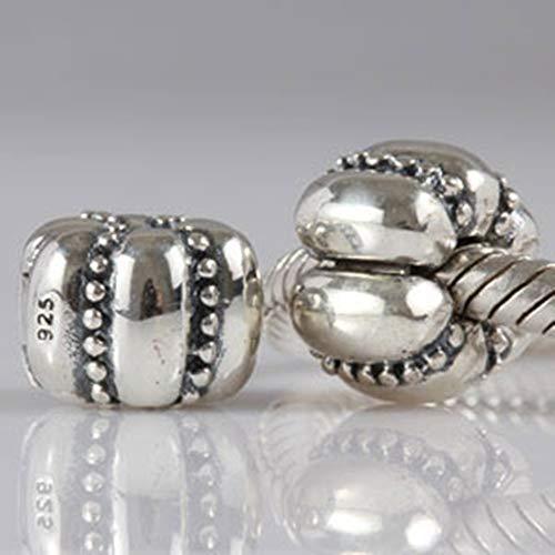 topper Schloss Charm 925Sterling Silber Halloween Bead passend für europäische Charms Armband ()