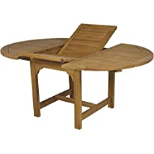 Amazon.es: mesa redonda extensible