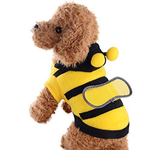 Notdark Kleidung für Haustiere geeignet für Hunde Cosplay Kostüm Style (Hunde Biene Kostüm Xl)