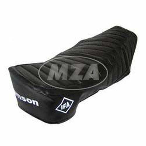 Sitzbezug SIMSON - schwarz, strukturiert, wasserdicht, S51E, S70E - für Enduro-Sitzbank